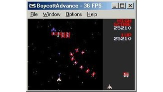 Galaga has some improved graphics...