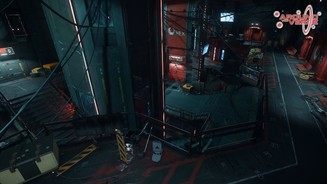 <b>Star Citizen</b><br>Screenshots der Raumstation GrimHex