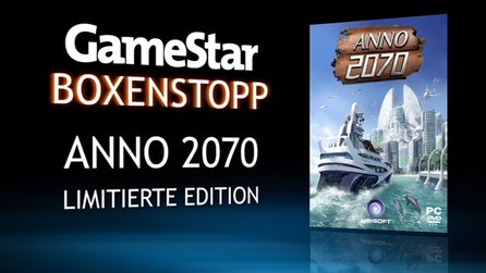 Anno 2070 - Boxenstopp-Video zur Collector's Edition & Online-Aktivierung