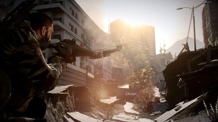 Battlefield 3: Aftermath - Preview-Video zum Erdbeben-DLC