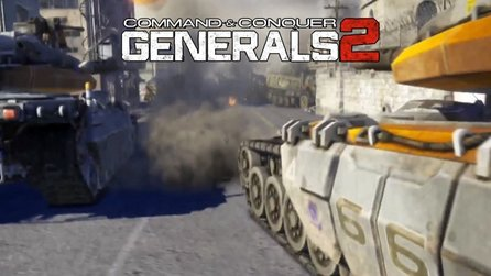 Command & Conquer: Generals 2 - Debut-Teaser: Panzerschlacht in Battlefield-3-Engine
