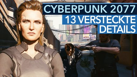 Cyberpunk 2077 - Video: 13 versteckte Details aus der Gameplay-Demo