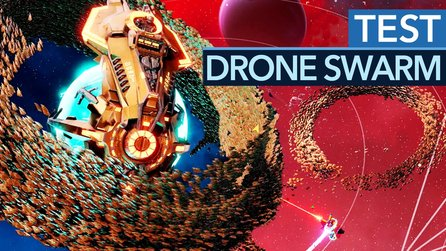 Drone Swarm - Test-Video zum Sci-Fi-Strategiespiel