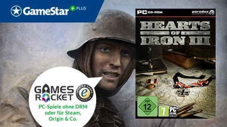 Hearts of Iron 3 bei GameStar Plus - Neue Vollversion von Gamesrocket