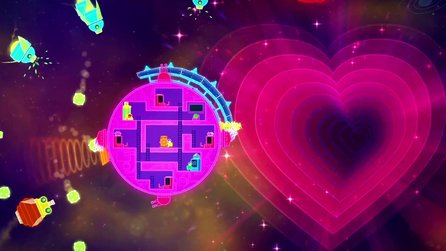 Lovers in a Dangerous Spacetime - Gameplay-Trailer zum Koop-Action-Spiel