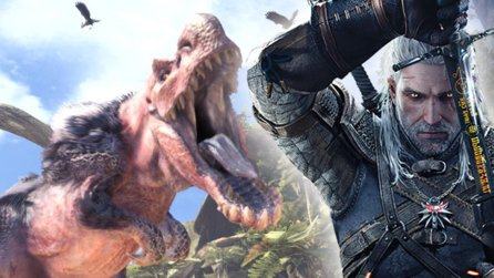 The Witcher trifft auf Monster Hunter: World - Gratis-Update bringt 2019 Geralt von Riva ins Monsterspiel