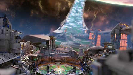 Rocket League - Halo-Arena Starbase Arc erstmals im Trailer