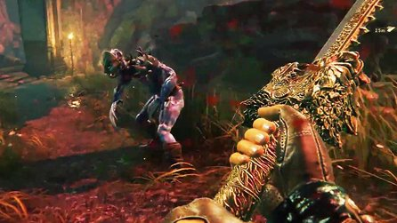 Shadow Warrior 2 - 12 Minuten Gameplay: Katana, Kettensäge & Körperteile