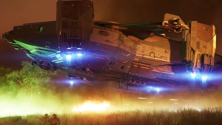Star Citizen - Trailer zum Dropship Valkyrie von Anvil Aerospace