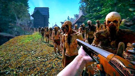 10.000 Zombies in einem riesigen Mixer - Beeindruckende Tech-Demo zu The Black Masses