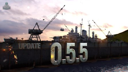 World of Warships - Trailer zeigt Update 0.5.5