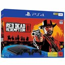 Playstation 4 slim 1 TB + Red Dead Redemption 2 + 2. Controller
