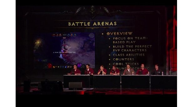 Blizzcon 2010: Diablo 3 Gameplay- und Klassen-Panel