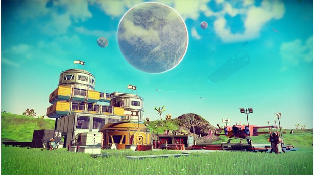 No Mans Sky - Screenshots aus dem Update 1.1 »Foundation«