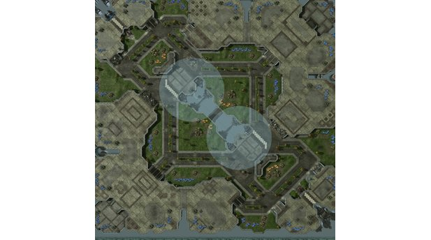 StarCraft 2 - Map-Pack 1 - 4v4-(8)District10