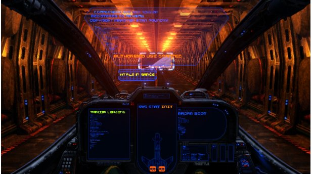 Wings of Saint NazaireDie Startsequenz erinnert uns ans gute, alte Wing Commander.
