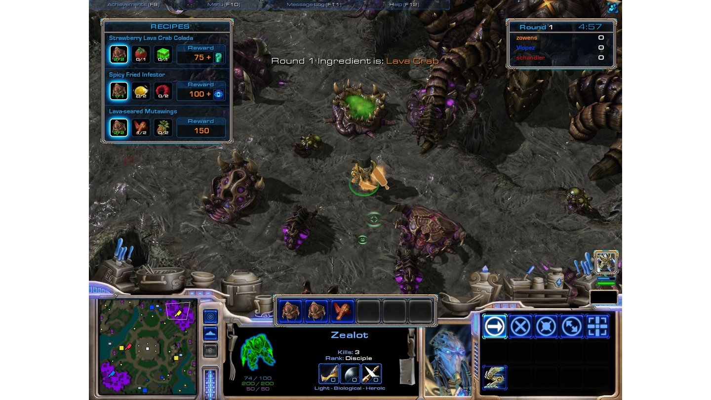 StarCraft 2 - Bilder zur Custom Map »Aiur Chef«