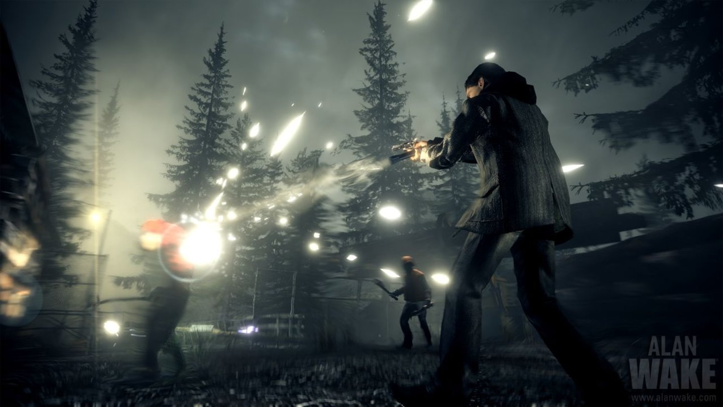 Alan Wake - Xbox 360 Screenshots von der X10-Messe