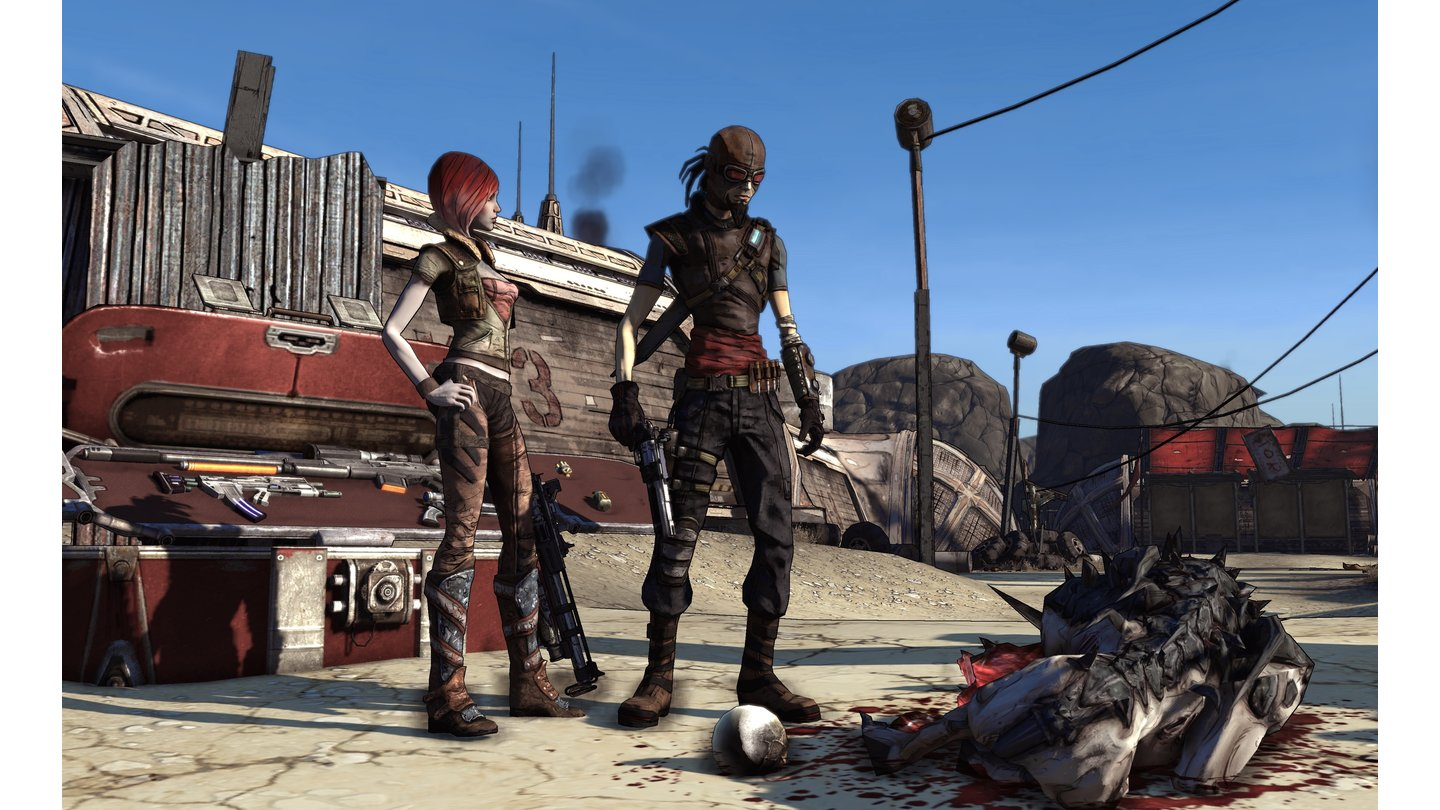 Borderlands - Screenshots vom neuen Grafik-Stil