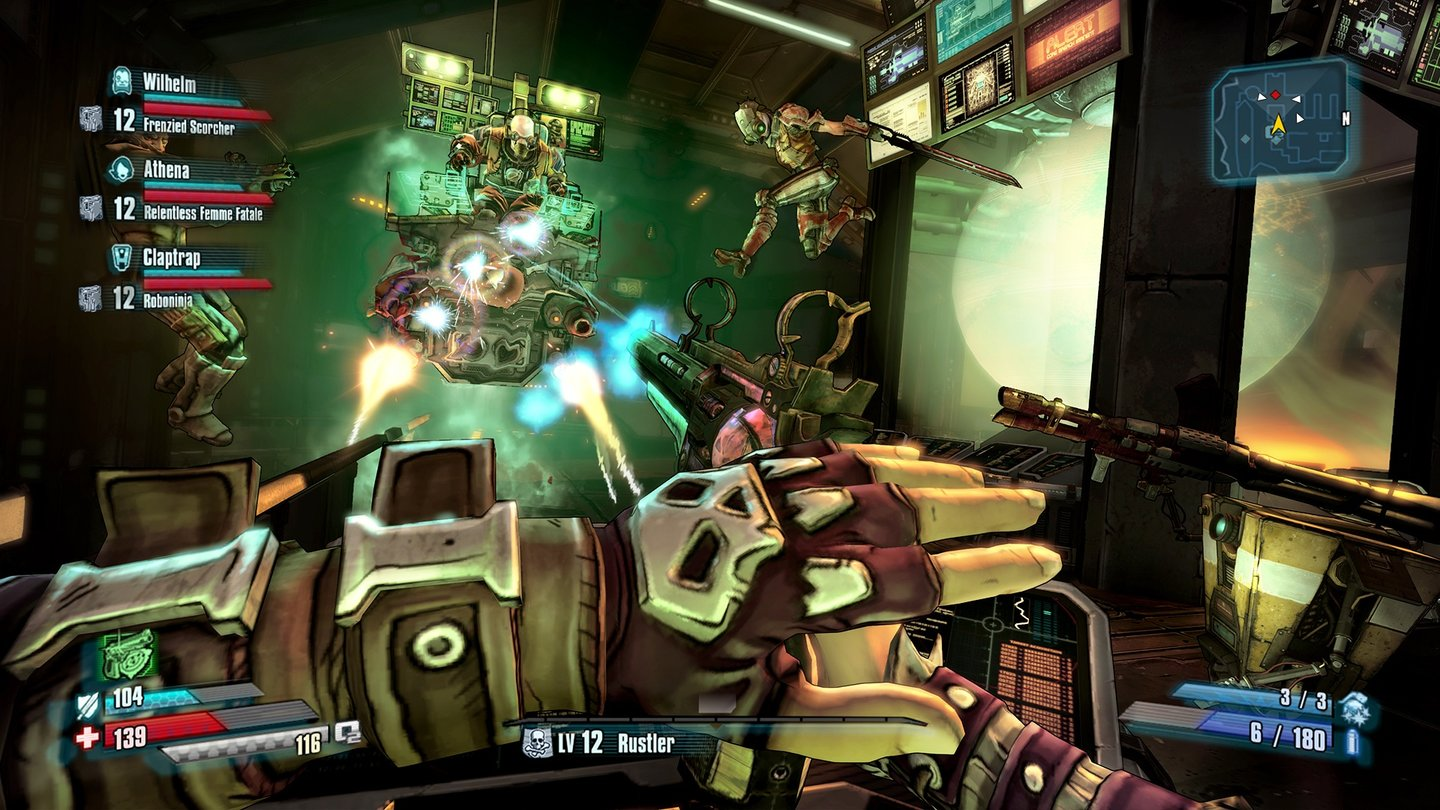 Borderlands: The Pre-Sequel - Screenshots von der gamescom 2014
