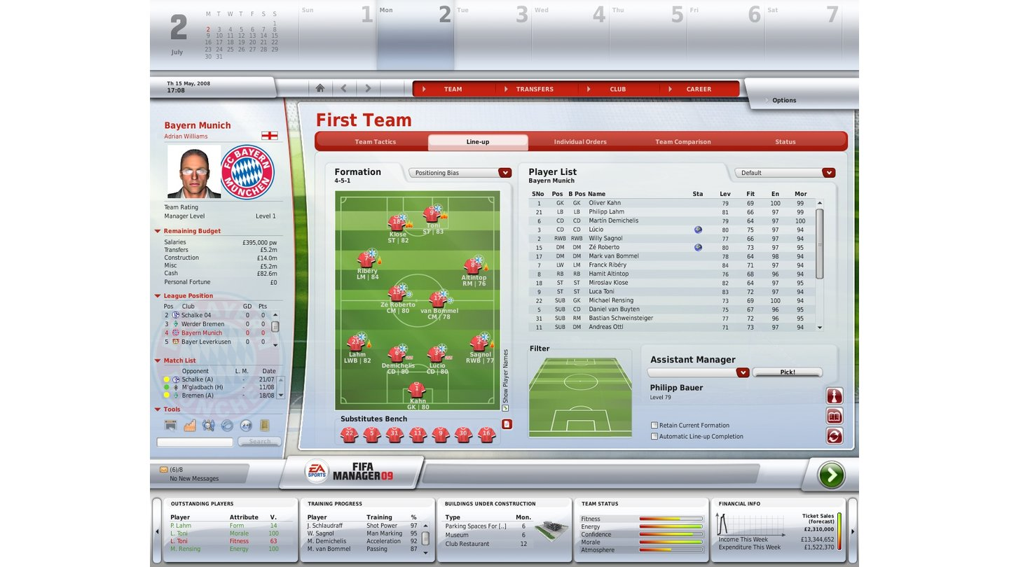 FUSSBALL MANAGER 09_2