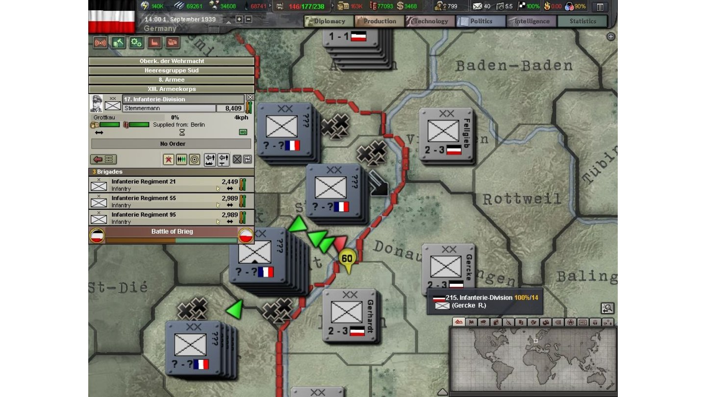 Hearts of Iron 3 - Betaversion