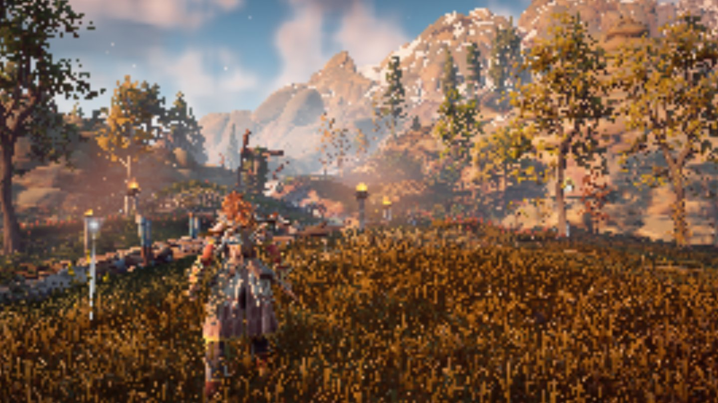Horizon Zero Dawn - Szene #5 in 200p