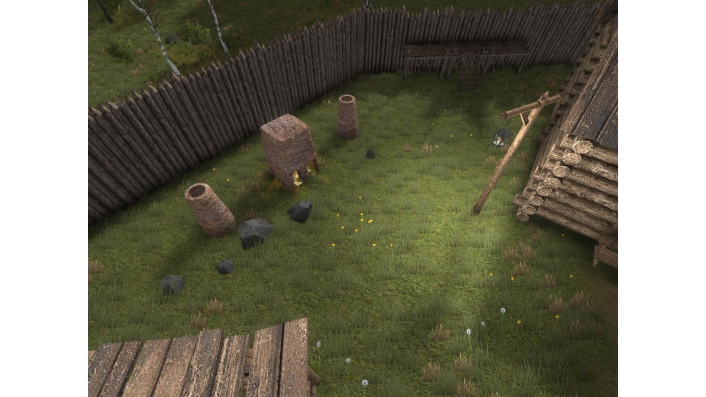 Life is Feudal - Screenshots aus der Early-Access-Phase