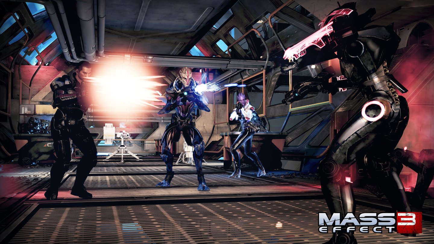 Mass Effect 3 - Screenshots aus dem »Omega«-DLC