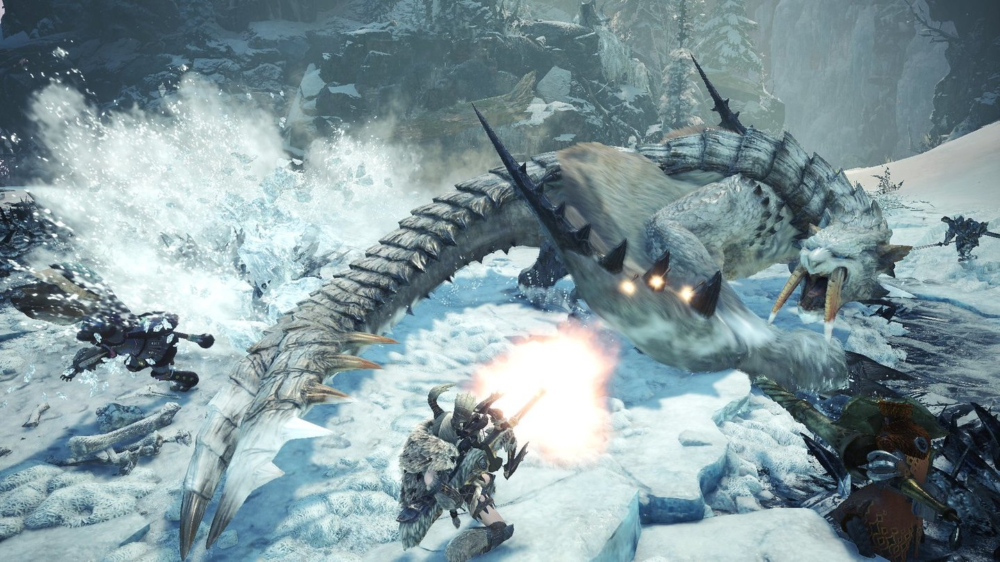 Monster Hunter World: Iceborne - Screenshots