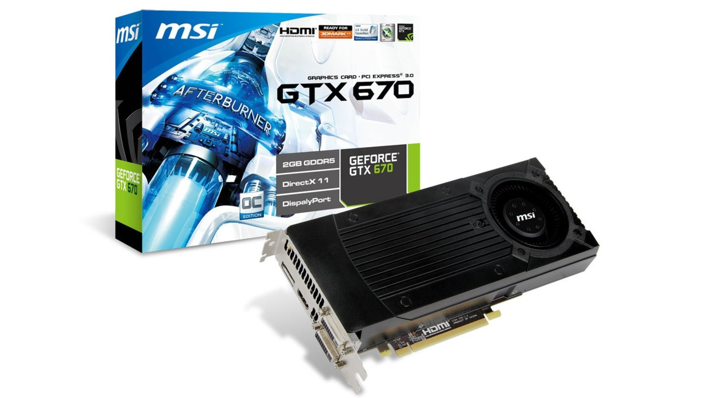 MSI Geforce N670GTX OC