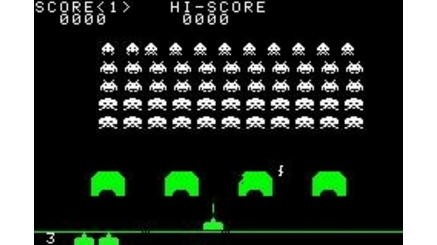 Playing the classical Space Invaders: a blast from the past!