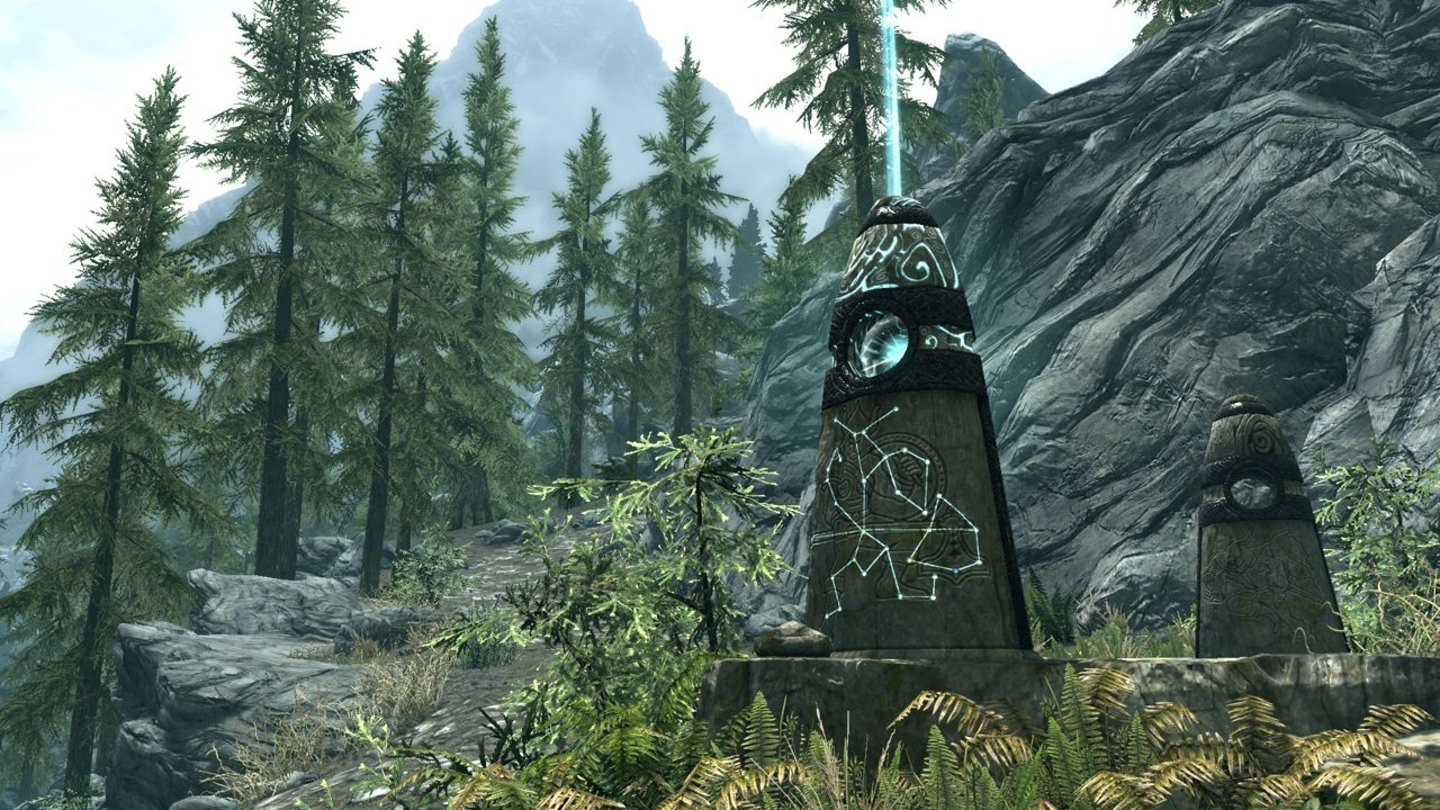 The Elder Scrolls 5: Skyrim - E3-Screenshots: Guardian Stones
