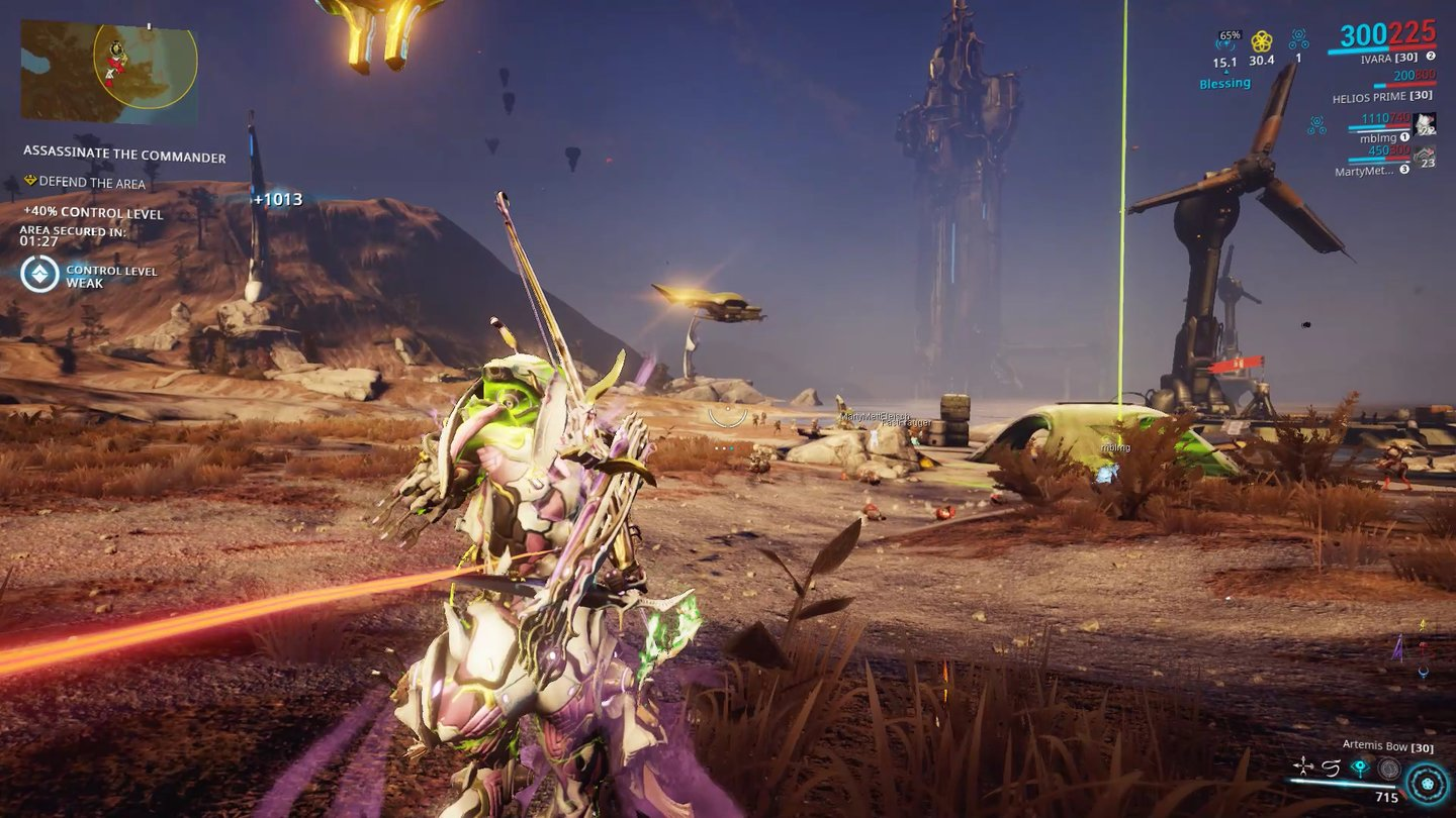 Warframe - Plains of Eidolon - Test