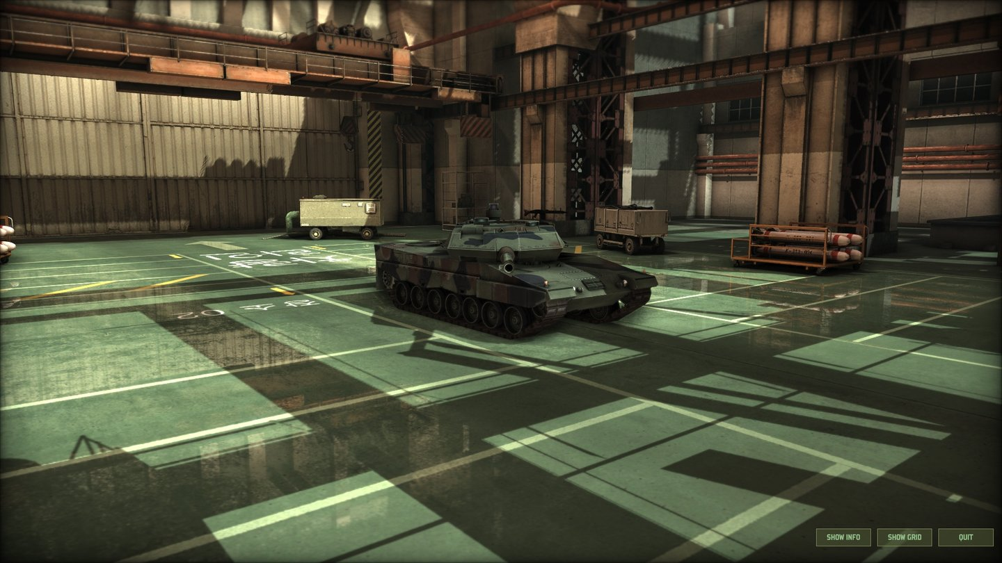 Wargame: Red Dragon Panzer stellt die Masse an Bodentruppen in Wargame: Red Dragon. Im Bild: Der Leopard 2A5.