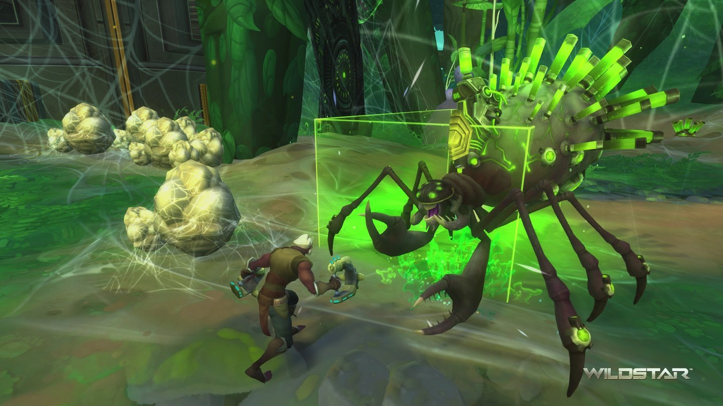 Wildstar - Screenshots zur Medic-Klasse