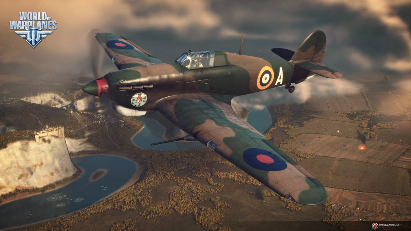 World of Warplanes - Bilder zum Update 1.5