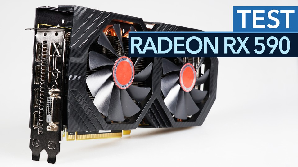 AMD Radeon RX 590 - Schnelle Mainstream-Grafikkarte mit viel Performance pro Euro