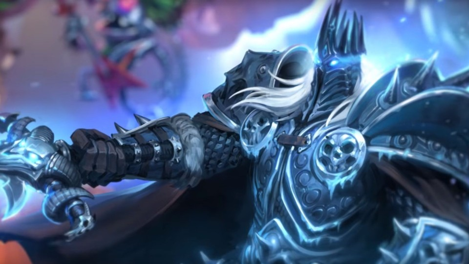 Hearthstone Battlegrounds - Lich King