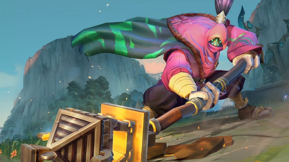 League of Legends: Wild Rift wird die Mobile- und Konsolenversion von League of Legends.