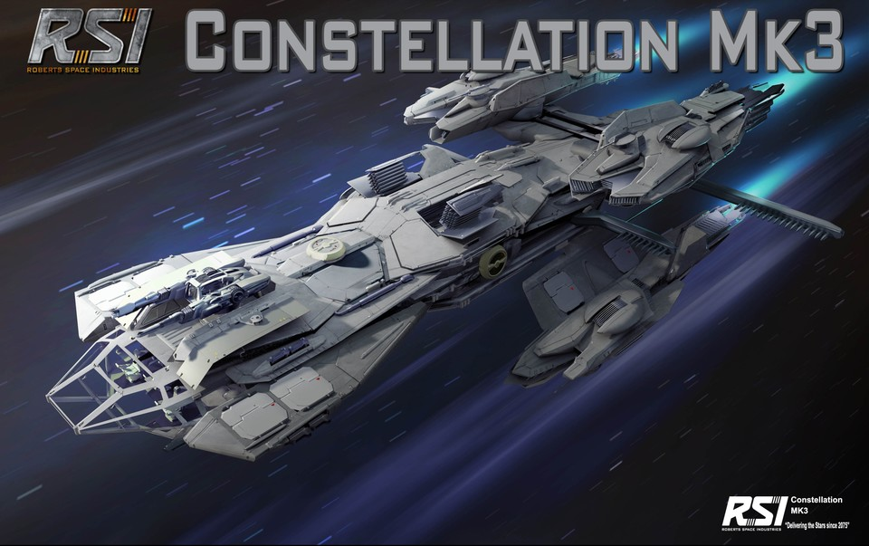 Für 250 US-Dollar gibt es in Star Citizen das RSI Constellation Mk3.