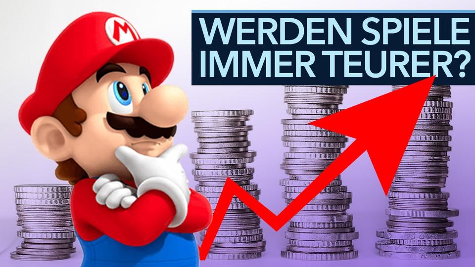 Werden Spiele wirklich immer teurer? - Video zur Preisentwicklung seit 1989