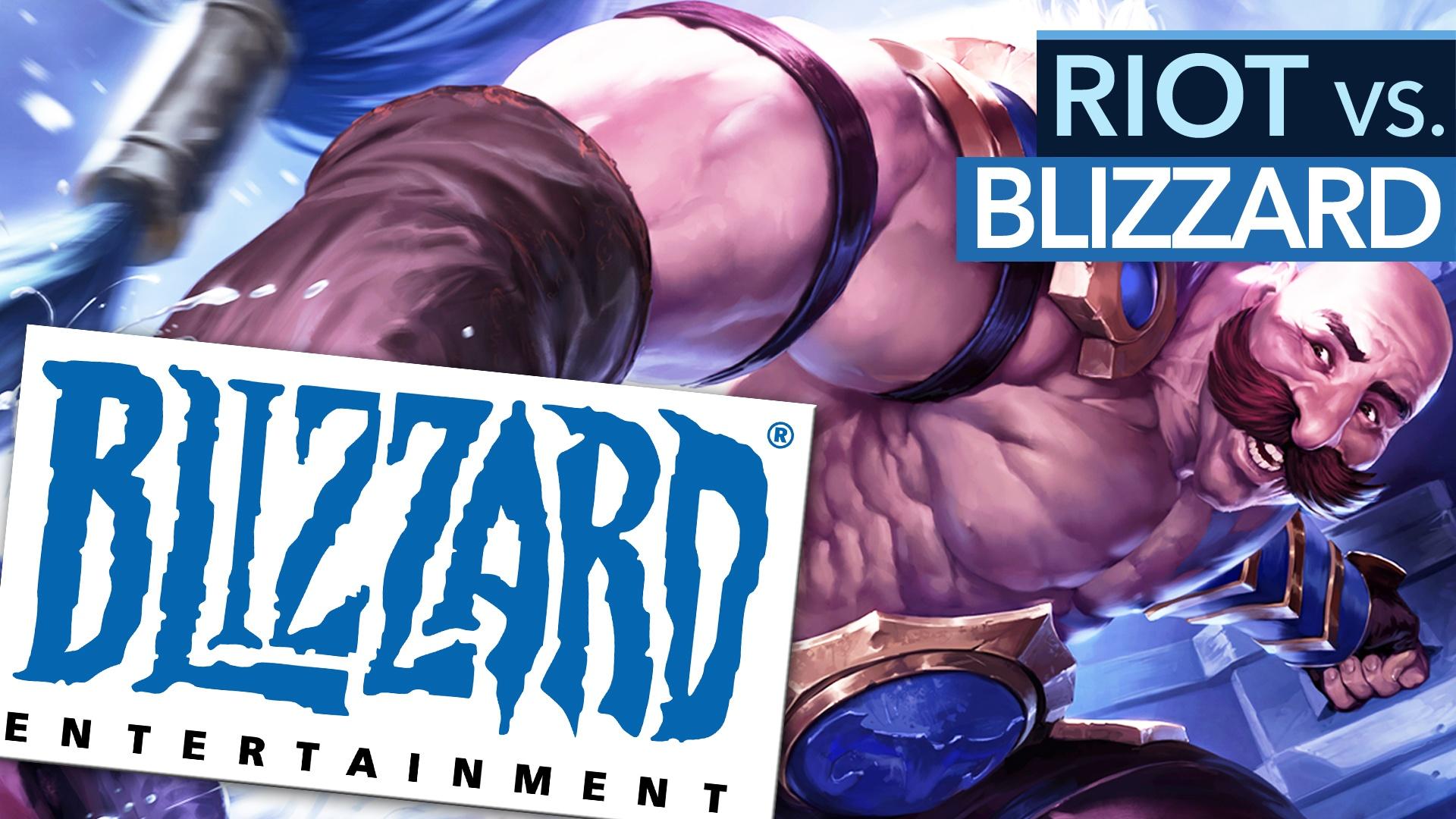 Riot setzt Blizzards eigene Strategie gegen sie ein