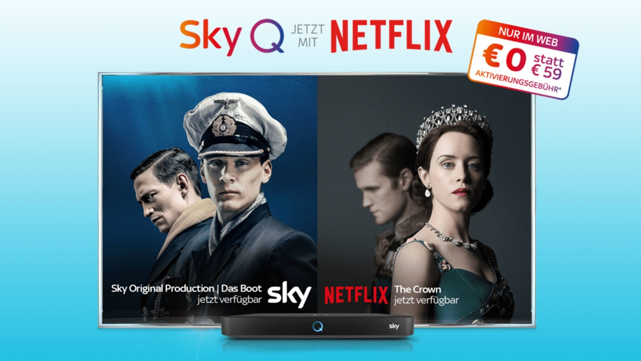 Sky Q Serien