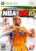 Cover zu NBA 2K10 - Xbox 360