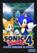 Cover zu Sonic the Hedgehog 4 - Episode II - Xbox 360