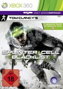 Cover zu Splinter Cell: Blacklist - Xbox 360