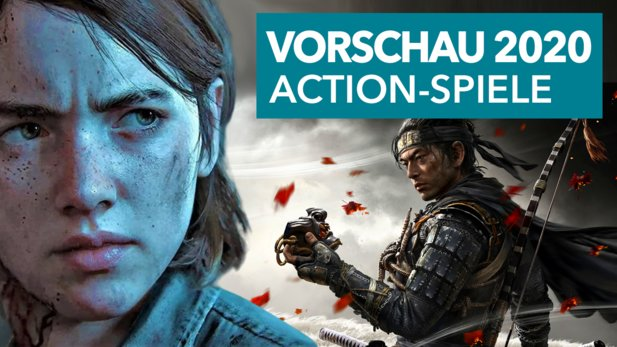 GamePros Liste der spannendsten Action-Adventures 2020 für PS4, Xbox One und Nintendo Switch.