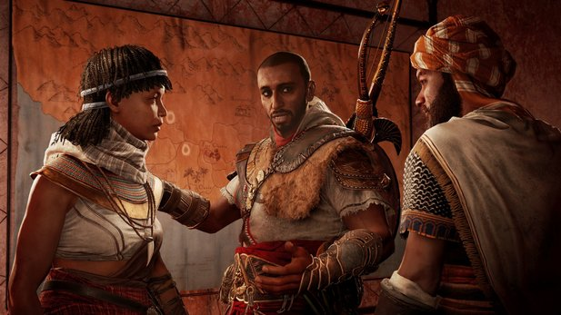 "Assassin's Creed: Origins - Launch-Trailer bereitet auf Story-DLC ""Die Verborgenen"" vor"