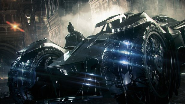 Batman: Arkham Knight - Gameplay-Trailer zeigt Rennen mit dem Batmobile